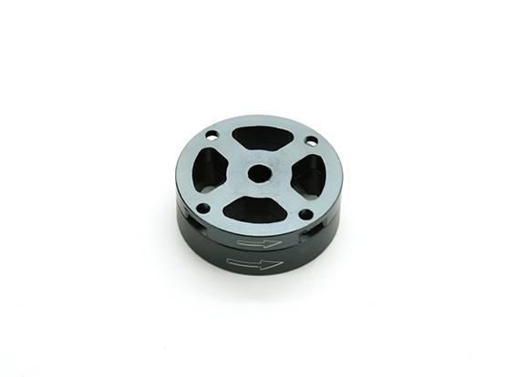 Di alluminio di CNC M10 Quick Release Self-serraggio Prop Adapter Set - Titanio (in senso antiorario)