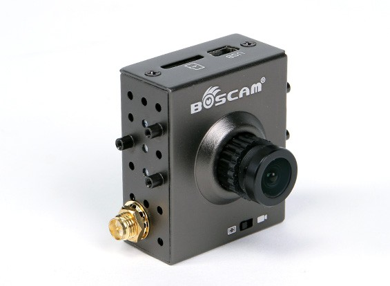 Boscam TR1 FPV All-In-One Camera e 5,8 GHz Trasmettitore con videoregistratore