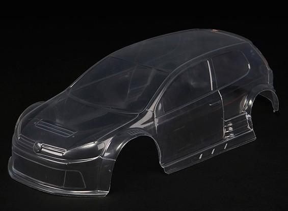 Basher RZ-4 1/10 Rally Racer - chiaro Shell Corpo