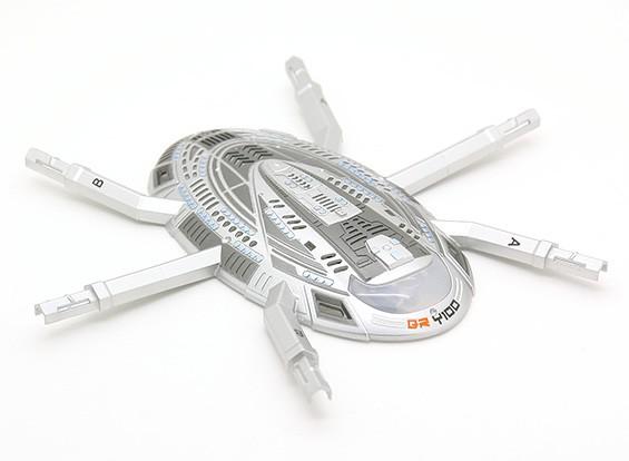 Walkera QR Y100 Wi-Fi FPV Mini HexaCopter - coperchio superiore del corpo
