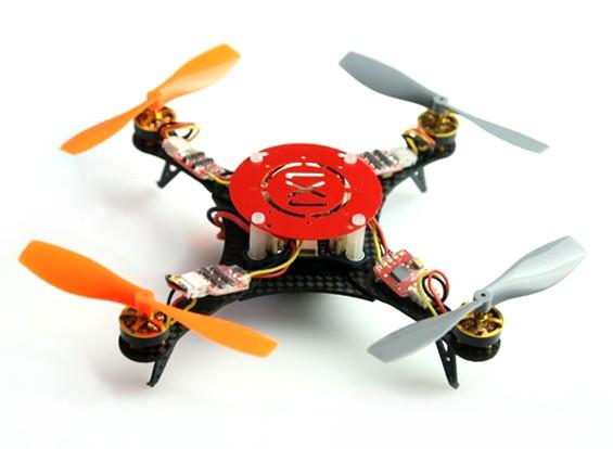 Super-X 125 millimetri Brushless Micro Quad-Copter Con MWC regolatore di volo (B & F KIT)