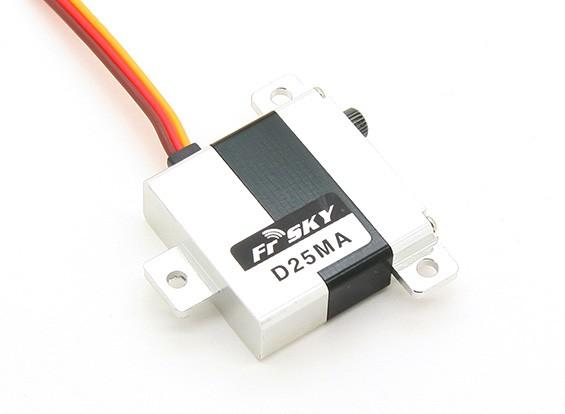 FrSky D25MA Digital SBUS Slim Ala servo (Metal Gear) 2,6 kg / .12sec / 22g