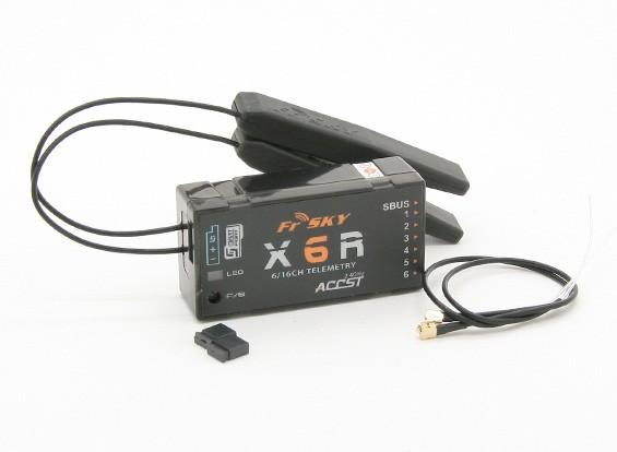 FrSky X6R 6-16 Canale, Sbus, intelligente porta del ricevitore (1pc)