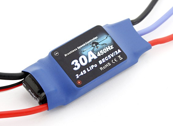 Flycolor 30 Amp multi-rotore ESC 2 ~ 4S con BEC