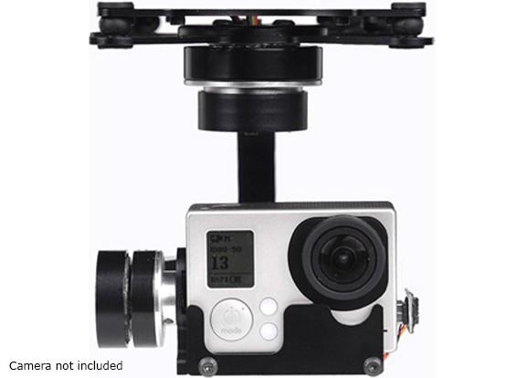 X-CAM A10-3H 3 assi di rotazione 360deg GoPro giunto cardanico di A / V di collegamento