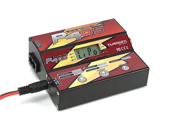 Turnigy P405 Dual Input (AC / DC) 45W digitale Bilanciamento del caricatore.