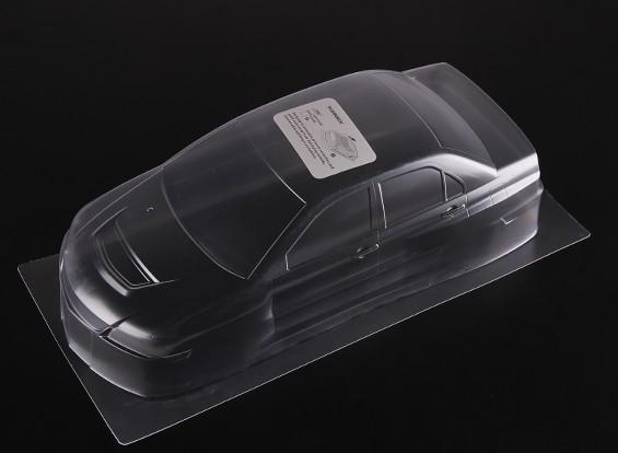 01:10 Mitsubishi Lancer Evolution 9 chiaro Shell corpo