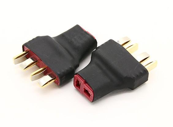 T Plug cablaggio per 2 confezioni in serie 2pcs / bag