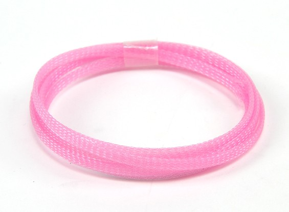 Filo Guardia Mesh rosa 3mm (1m)