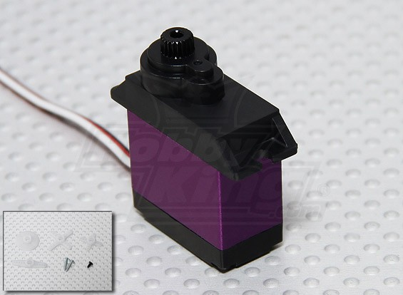 metallo Digital sistema a servo 16g / 4,6 kg / .16sec