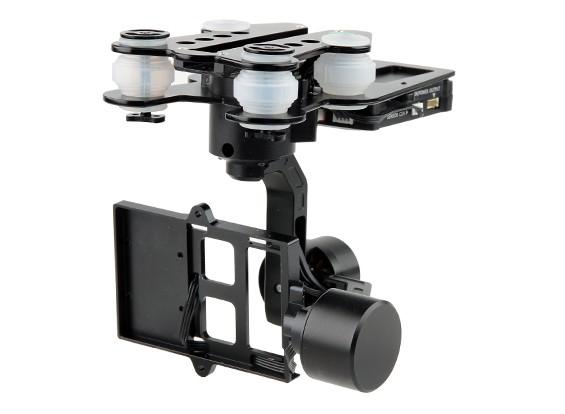 Walkera G-3D Brushless 3-Axis GoPro giunto cardanico (adatto per Walkera QR X350PRO, TALI H500, e X800)