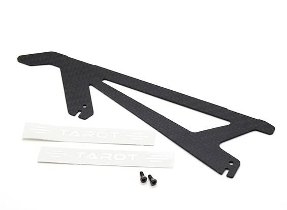 Tarot 450 Pro / Pro V2 DFC fibra di carbonio Landing Skid (TL2775-02)