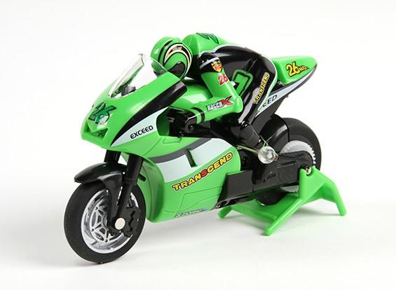 Allegro Micro Sport Bike 1/20 ° della scala del motociclo (RTR) (verde)