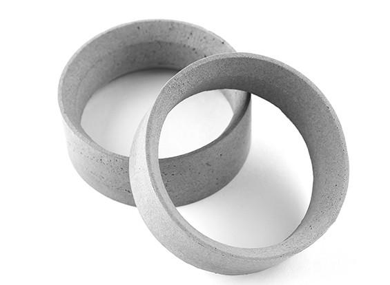 Squadra Sorex 24 millimetri modellati pneumatici inserti di tipo C Medium (2 pezzi)