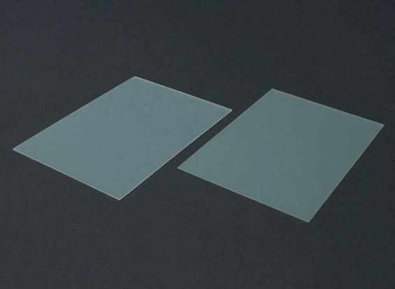 Scheda FR4 Epoxy Vetro 210 x 148 x 0,8 mm (2pc)