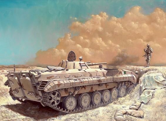 Italeri 1/35 Scale Kit BMP-1 Resina Modello