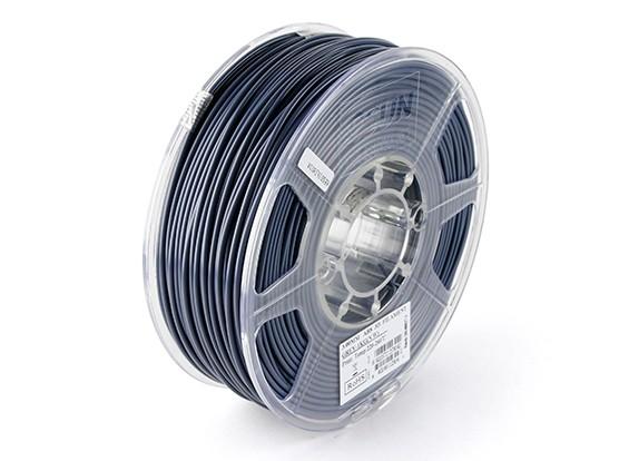 Filament stampante ESUN 3D Grigio 3 millimetri ABS 1KG Rotolo