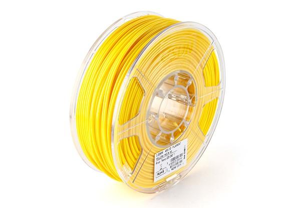 ESUN 3D filamento stampante 3 millimetri giallo ABS 1KG Rotolo