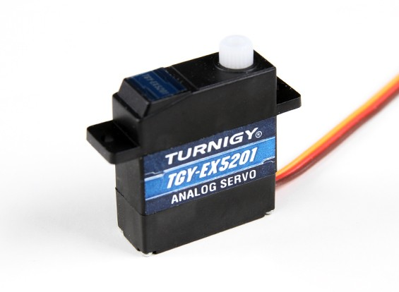 Turnigy ™ TGY-EX5201 Ball Bearing analogico micro servo 2.2kg / 0.10sec / 10.4g
