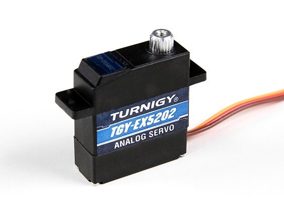 Turnigy ™ TGY-EX5202MG Twin Ball Bearing analogico micro servo 2,8 kg / 0.10sec / 12.4g