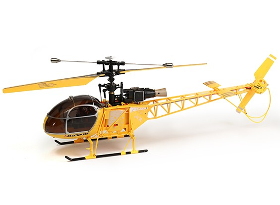 WLToys V915 2.4G 4CH elicottero (Ready per volare) - Giallo