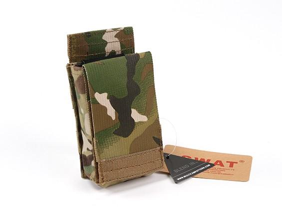 Velocità SWAT Cordura M4 aperto singolo Magazine Pouch (Multicam)