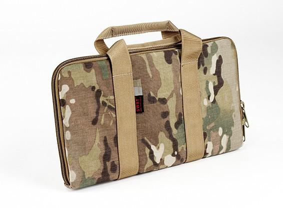 SWAT Cordura Pistola sacchetto di trasporto (Multicam)