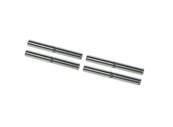 Sospensione esterno Pin Set - 3Racing SAKURA FF 2014