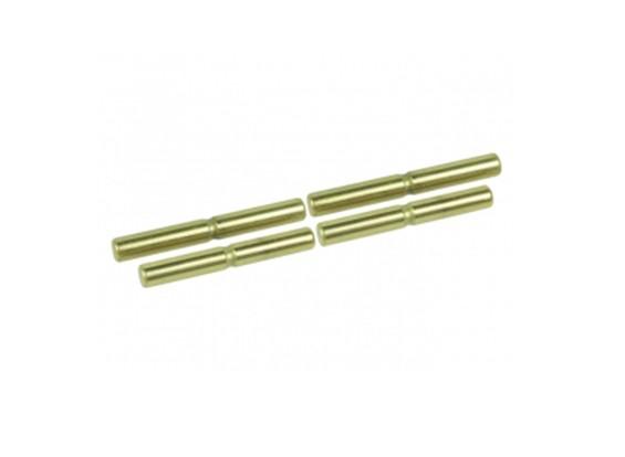 Sospensione esterno in titanio rivestito Pin Set - 3Racing SAKURA FF 2014