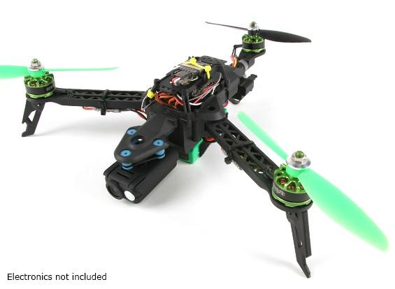 Quanum Trifecta Mini pieghevole Tricopter Frame (KIT)