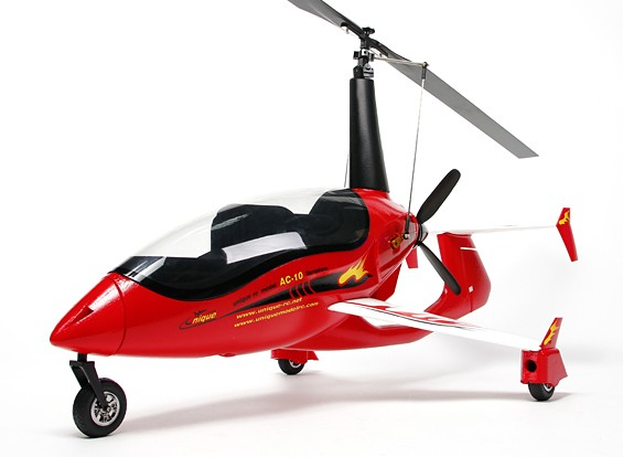 AC-10 Gyrocopter 1.320 millimetri (PNF)