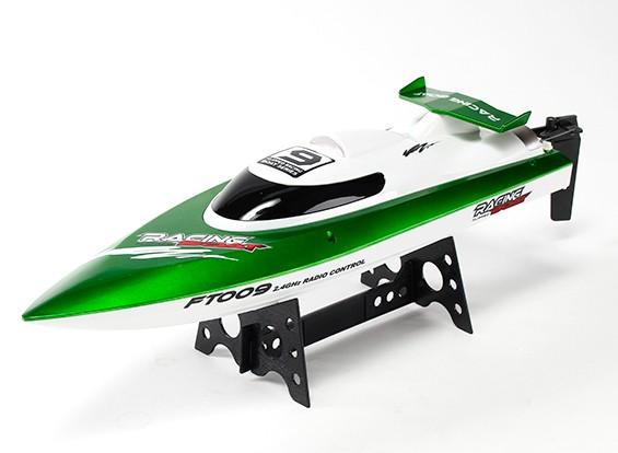 460 millimetri FT009 ad alta velocità V-Hull barca di corsa - Verde (RTR)