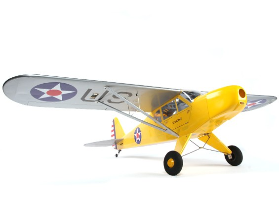 Piper J-3 Balsa GP / EP 1620 millimetri (ARF)