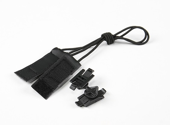 Kit FMA Goggle Bungee Velcro (nero)