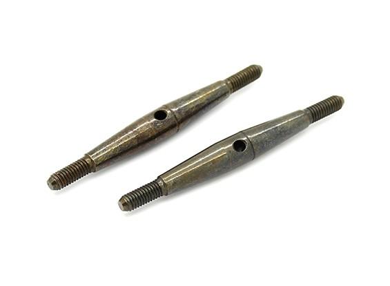 Trackstar 1/10 molla in acciaio Turnbuckle M3x45 (2 pezzi)