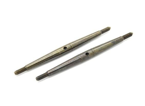 Trackstar 1/10 molla in acciaio Turnbuckle M3x70 (2 pezzi)