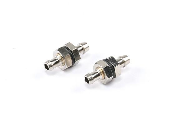 Placcato combustibile ottone raccogliere montaggio L23 × D10 × D5mm 5g (2 pezzi)