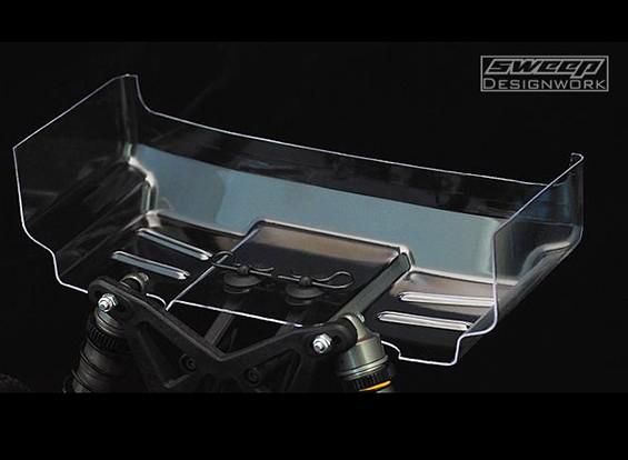 "Sweep 1:10 Buggy trasparente Ala - 6.5 ""- 1 mm (2 pezzi)"