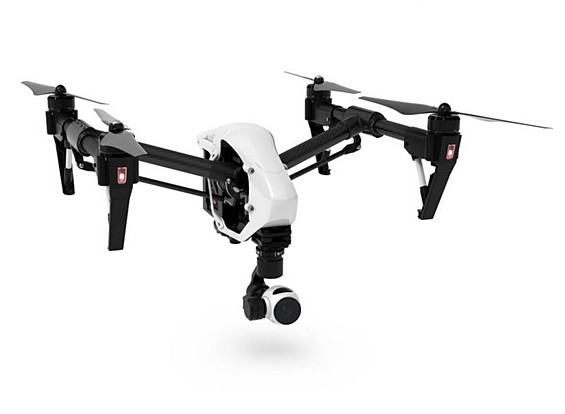 DJI T600 Inspire 1 Quadcopter con 4K fotocamera e 3-Axis Gimbal