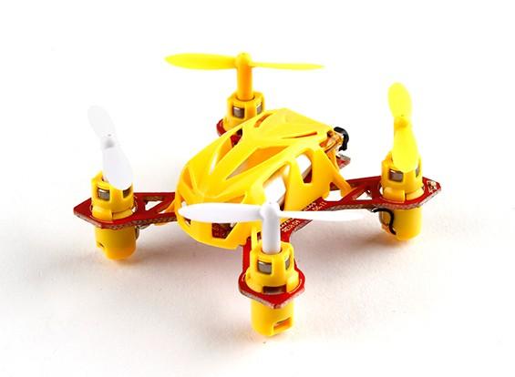 WLToys V272 2.4G 4CH Quadcopter Colore Giallo (pronto a volare) (Modalità 2)