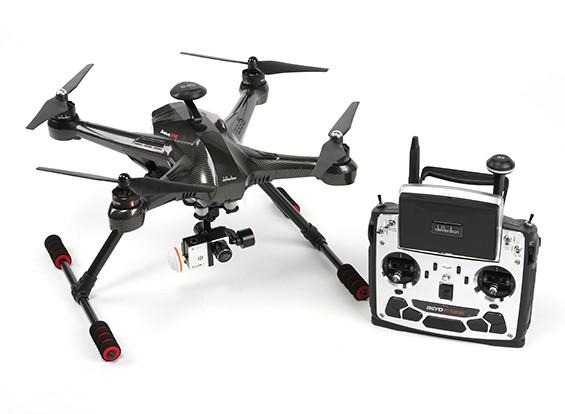 Walkera Scout X4 FPV Quadcopter con Devo F12E, G-3D giunto cardanico, iLookplus (Ready per volare)