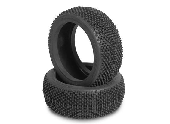 JCONCEPTS subculture 1 / 8th Buggy Tires - verde (Super Soft) Compound