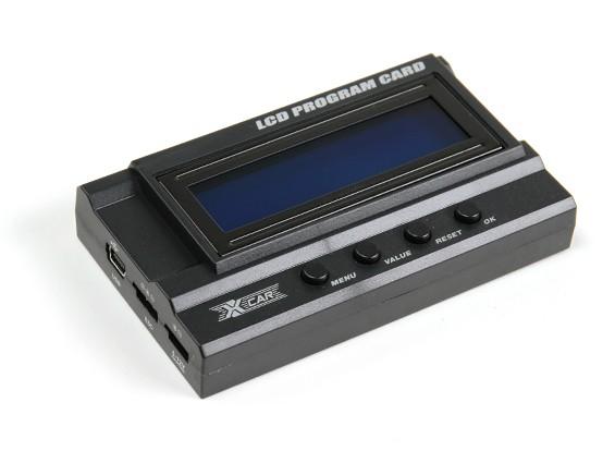 Scheda Programma LCD HobbyKing® ™ X-Car serie Beast