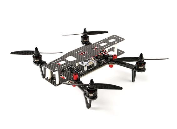 DYS 250 fibra di vetro pieghevole Quadcopter con il caso di bagagli (PNF)