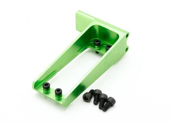 Assalto in elicottero 450L Flybarless 3D coda CNC posteriore Servo Mount (verde)