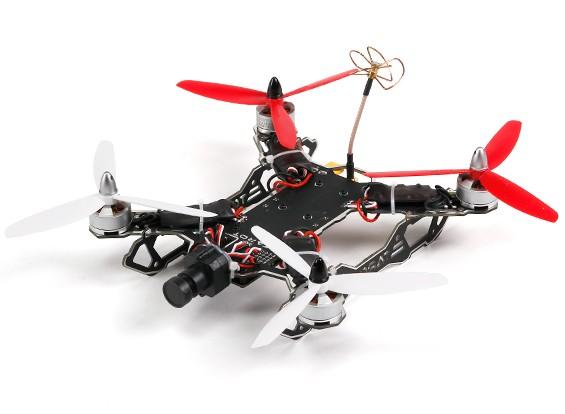 Tarocchi 200 Classe FPV Mini attraverso la macchina Quadcopter (PNF)