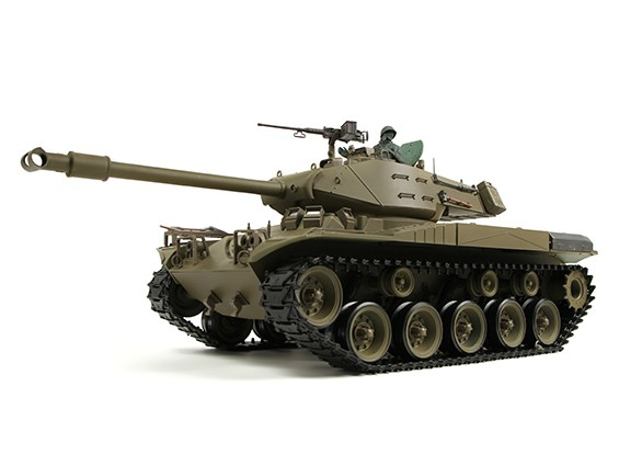 US-M41A3 Walker BullDog Luce RC serbatoio RTR w / Softair, Tx, Sound Generator e non fumatori (AR Warehouse)