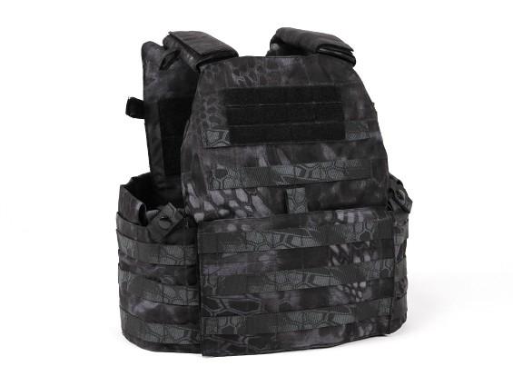 SWAT V6094 Vest con piastra manichino (Kryptek Typhon)