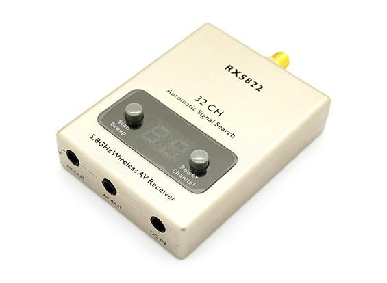RX-5822 5.8GHz Wireless 32CH ricevitore A / V con A / V e Cavi di alimentazione