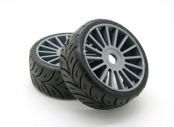 "Xceed ""Rally"" set 1/8 Tire - Hard (1pair)"